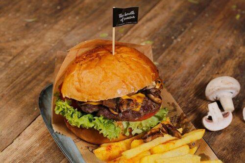Mantar Soslu Burger