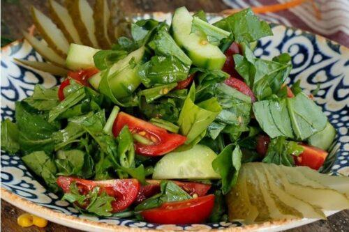 Rokalı çoban salata