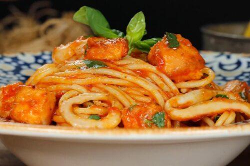 Spagetti Deniz Mahsulu