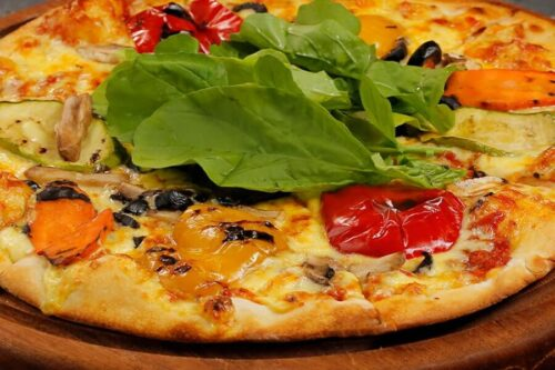 Vejetaryan Pizza