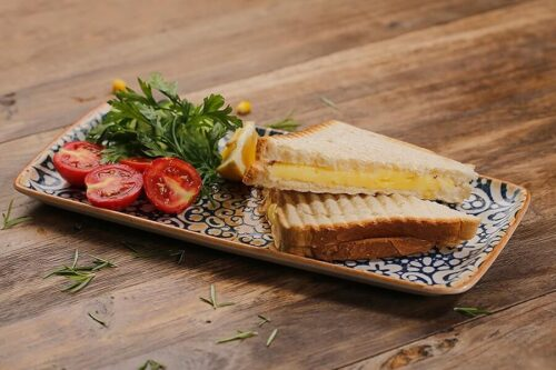 Kaşarlı peynirli tost